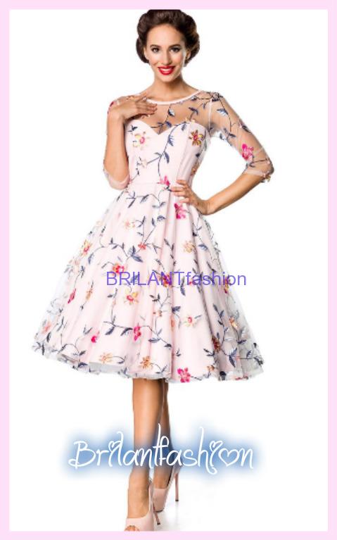 Vintage kvetinové šaty Premium  e857855e897