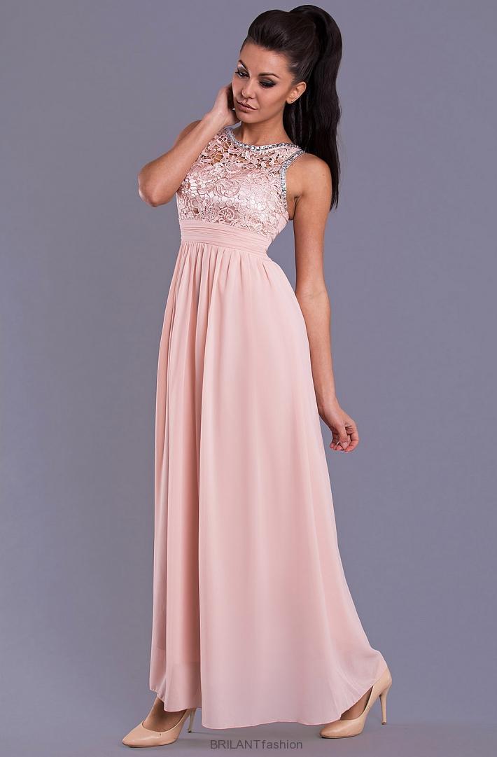 3b6faee221f8 Spoločenské dlhé šaty-EVA   LOLA-