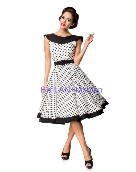 9a9972946ed5 Belsira Premium Vintage Swing-Kleid-