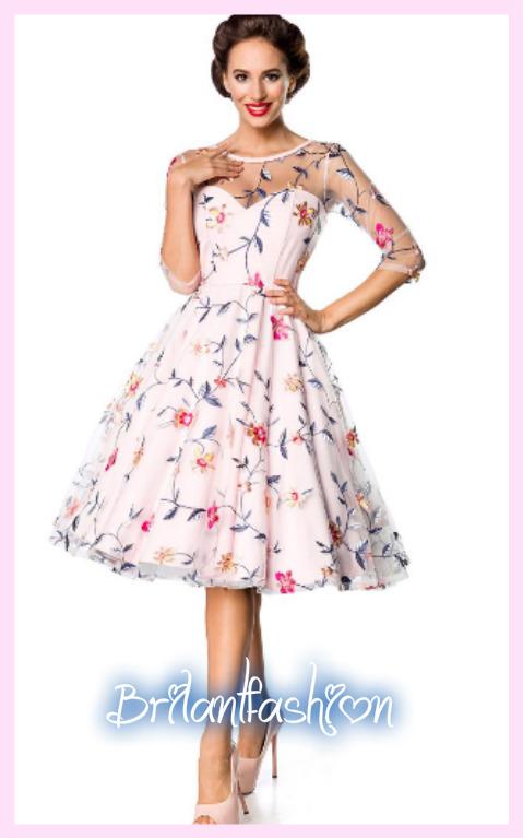 8a1619be633b Vintage kvetinové šaty Premium