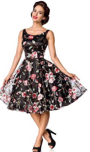 f37551bc120 Belsira Premium Vintage šaty-Vintage kvetinové šaty empty