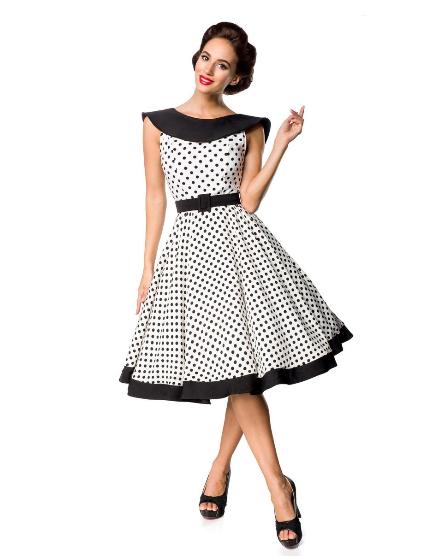 ba5f2f9c3a45 Belsira Premium Vintage Swing-Kleid- empty