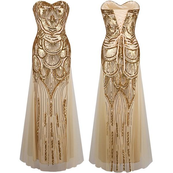 bee58f1424f Luxusné dlhé šaty Angel- empty