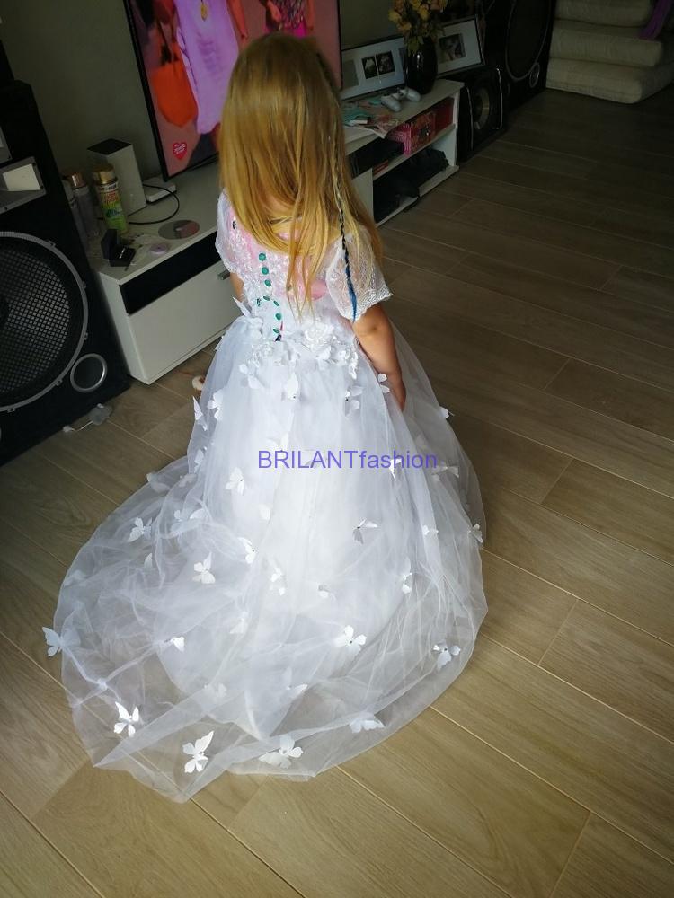 532ed95ae4b Kompletné špecifikácie · Na stiahnutie · Súvisiaci tovar. Nádherné real  foto Luxusné detské Narodeninové šaty ...